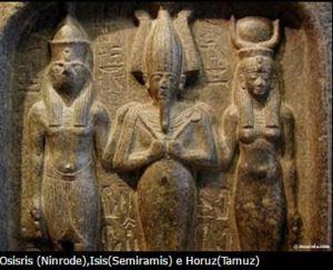 Ninrode, Semiramis e Tamuz